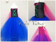 Handmade Anna Disney Frozen Inspired Tutu Dress Costume. Elsa, Princess dress up