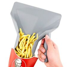 Useful Chips Scoop Food French Fries Shovel Fry Scoop with Handles Grips