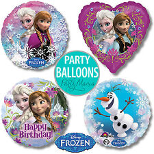 DISNEY FROZEN ANNA ELSA GIRLS BIRTHDAY PARTY SUPPLIES FOIL BALLOONS DECORATIONS