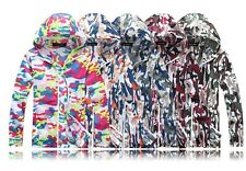 Men & Women camouflage Skin Jackets Sun Protection Clothing outdoor hooded Coat