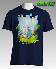 NEW Licensed Quality Minecraft Adventure Youth T-Shirt S M L XL Free Postage