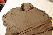 Coyote Brown PolyPro Thermal Undershirts/Tops Official US Military! Sekri, Inc