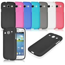 Soft TPU Gel Rubber Back Case Cover Skin for For Samsung Galaxy Core i8260 i8262