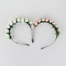 Flower Garland Floral Bridal Headband Hairband Wedding Prom Hair Accessories HC