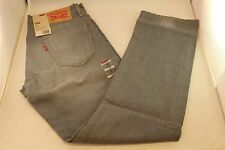 New Levi's Jeans 504 Regular Straight Fit Modern Gray Grey 30 31 32 33 34 36 40