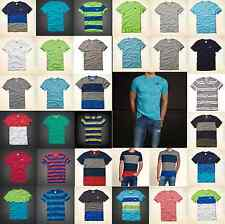 NWT Hollister by Abercrombie & Fitch Mens Dudes V-Neck Crewneck T-Shirts Tees