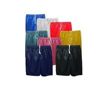 Boys Girls And Childrens PE ADULT Sports Shadow Stripe Shorts PE Football