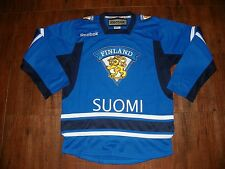 Team FINLAND Adult Reebok Ice Hockey Jersey