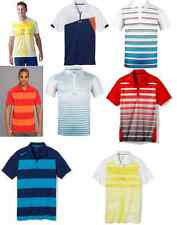 NWT Oakley Mens Multi Color Athletic Striped Polos Rugby Small Medium Large XL