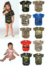 Rothco One Piece Camo Military Army Law Enforcement Bodysuit Infant Onesie