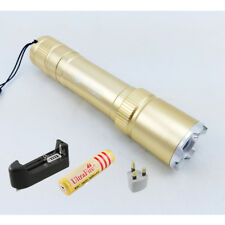 New UltraFire Zoomable 1200LM CREE Q5 LED Torch Waterproof Flashlight Lamp in UK