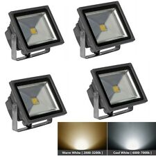4 x 50W Cool Warm White Floodlight Outdoor Lamp LED Flood Wash Light IP65 220V