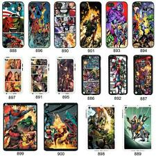 DC Marvel superhero comic book cover case for Apple iPhone iPod & iPad No. 12