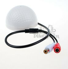 1-10 pcs High Sensitive Microphone Audio/Sound Monitor for CCTV Security Camera