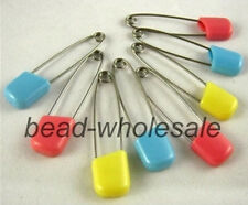 20Pcs Dress Nappy Diaper Shower Safety Pins Hold Locking Pin Brooch For Baby