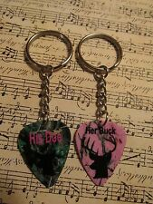 Custom His Doe & Her Buck Key Chain Set, by Music Addict, Made in USA!