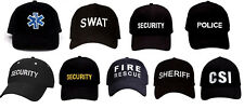 Low Profile Hat Law Enforcement Security Police SWAT EMT Cap Supreme Rothco