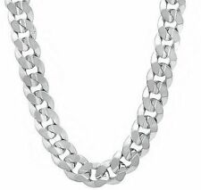 .925 Solid Sterling Silver 1.1mm LONG BOX Chain Necklace ALL SIZES 16inch
