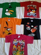 Angry Birds Shirts Kids  (NEW ANGRY BIRDS T-SHIRTS FOR KIDS)