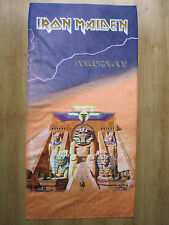 IRON MAIDEN - POWERSLAVE    ...BEACH,SPORT& HOME TOWELS..MEGA RARE..