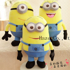 """20"""" Despicable Me 2 Plush Soft Toy In Movie Minion Minions 3D Eye Doll Big Gift"""
