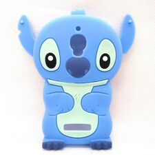 3D blue Lilo & Stitch cute lovely Silicone Soft Case Cover For MOBILE PHONES