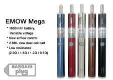 Kanger EMOW MEGA 1600 mAh VV Battery Starter Kit Stainless Steel Airflow Colors