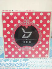 BLOCK B - H.E.R 4th Mini Album + folded Poster and Member of your choice CD KPOP