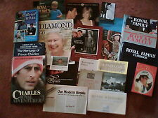 COLLECTABLE ROYAL MEMENTOS - books, mags, guides, pics, facts   chose from menu