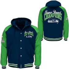 Seattle Seahawks -Super Bowl Champs Commemorative Sideline  Jacket By G-III