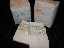 2 Diapers - Bambino Classico - Medium or Large - plastic - adult baby - AB/DL