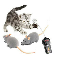 Remote Control Wireless Rat Mouse Mice Toy For Cat Dog Pet Novelty Funny