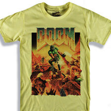 DOOM T-shirt FPS Videogame Doom II: Hell on Earth First person shooter videogame