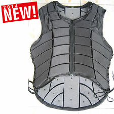 Equestrian Horse Riding Safety Vest Protective Vest Body Protector Eventer Black