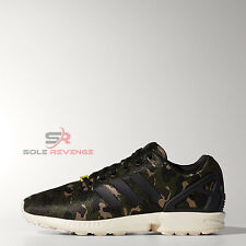New adidas Originals Mens ZX FLUX CAMO Core Black M21062 zxz 700 750 800 tr 8000