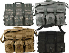 Rothco MOLLE Tactical Military Camo Laptop Briefcase Shoulder Bag