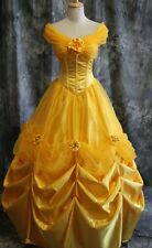 Disney Beauty and the Beast Yellow Belle Princess Made Cosplay Costume