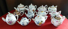 FRANKLIN MINT Victoria and Albert Museum Miniature Teapots (Individually Priced)