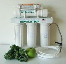 USA Made HomeEco 5 Stage Reverse Osmosis with Re-mineralization filter 50-100GPD
