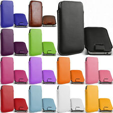 for fly iq447 Era Life 1 Leather bag case Pouch Bag Cases Cell Phone Accessories