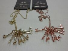 """And Mary-Scotland """"I Love you"""" Antique Keys Necklace with 24"""" Chain."""