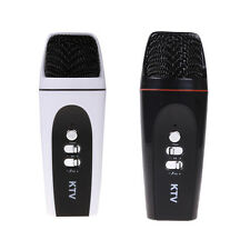 Pocket Mini Microphone Home Karaoke Player KTV Recorder for Iphone Cellphone PC