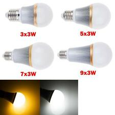 9W 15W 21W 27W E27 Dimmable LED Warm Cool White Spot Light Globe Bulbs Downlight