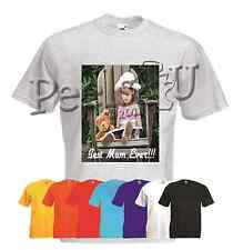 Customised Adult Printed Photo/ Image T shirt Any image Any Text Free Delivery