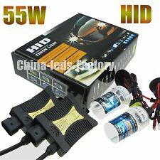 55W Xenon HID conversion Kit H1 H3 H7 H9 H11 HB3 HB4 4300k 6000k 8000k Headlight