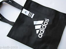 ADIDAS CANVAS TOTE SHOPPER BAG CHOICE OF COLOUR RED OR BLACK OFFICIAL PRODUCT