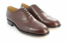 Men's Classic Oxford Leather Sole - Brown - by GPB Shoes