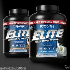 Elite 100% Whey Protein 5 lbs Dymatize | All Flavors In-Stock | Ready-to-Ship