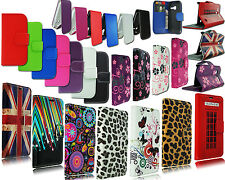 NEW LEATHER FLIP BOOK WALLET POUCH PHONE CASE FOR ALCATEL ONE TOUCH 3040 OT3040