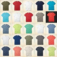 NWT HOLLISTER CO. BY ABERCROMBIE MEN'S T SHIRT SOLID COLORS